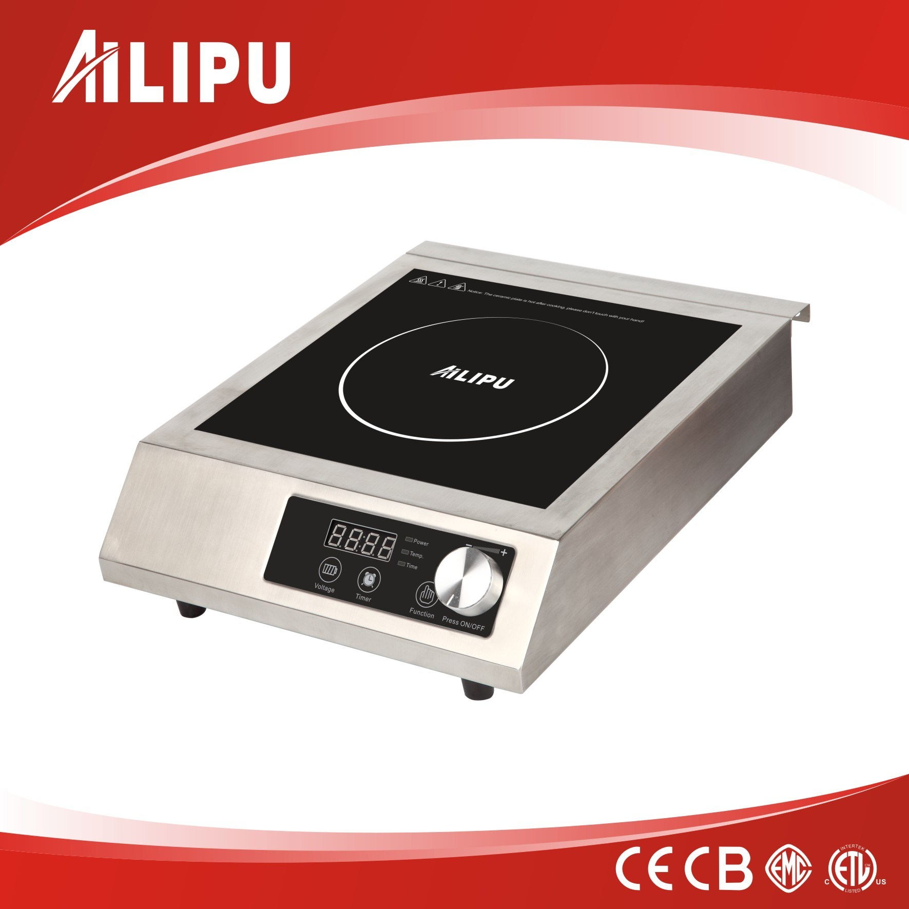 High Power 3500W Commercial Induction Cooker Model Sm-A80