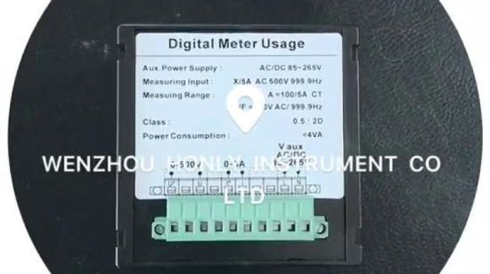 Digital Meter---Current and Voltage Frequency Meter (DP-S96-3 AC AV)