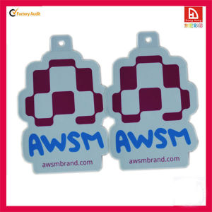 2013 Customized Sticker Tags/ C1s Paper Hangtag (DH-21)