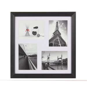 Combination MDF Photo Frame Hold 4 Pics/4 Holding of Pictures Frame (GH 016)