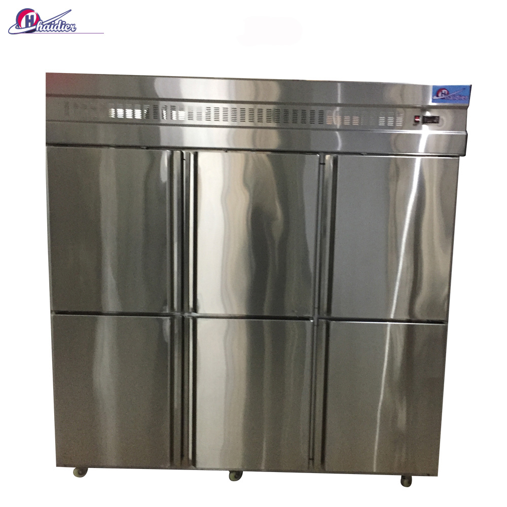 Customized High Pressure Foaming PU 4/6 Doors Bakery Cold Storage/ Freezer/ Refrigerator with Danfos