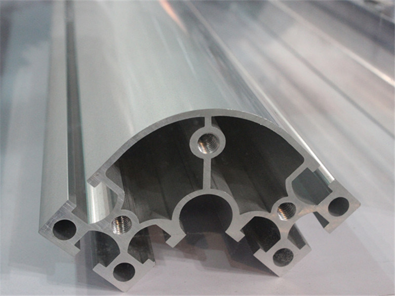 6063 T5 Aluminum Hollow Profile Section Customized as Per Drawings