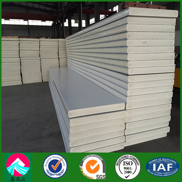 Polyurethanes Roof and Wall PU Sandwich Panel