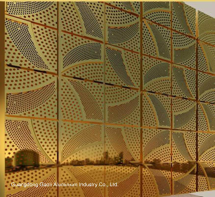 4D Wood ACP Aluminium Composite Panel (005)